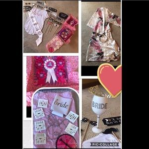 Dresses & Skirts - Bridal sash, game, robe, tattoos, coozie, and prop